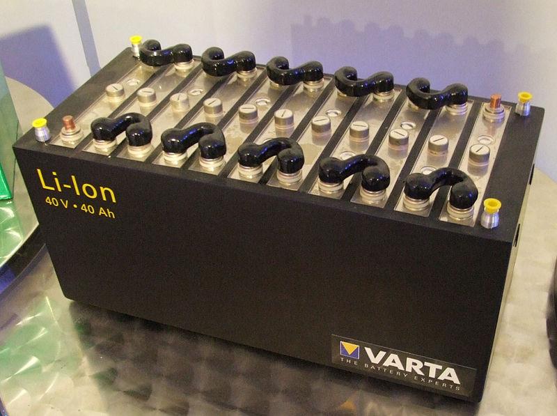 Lithium-Ionen-Accumulator